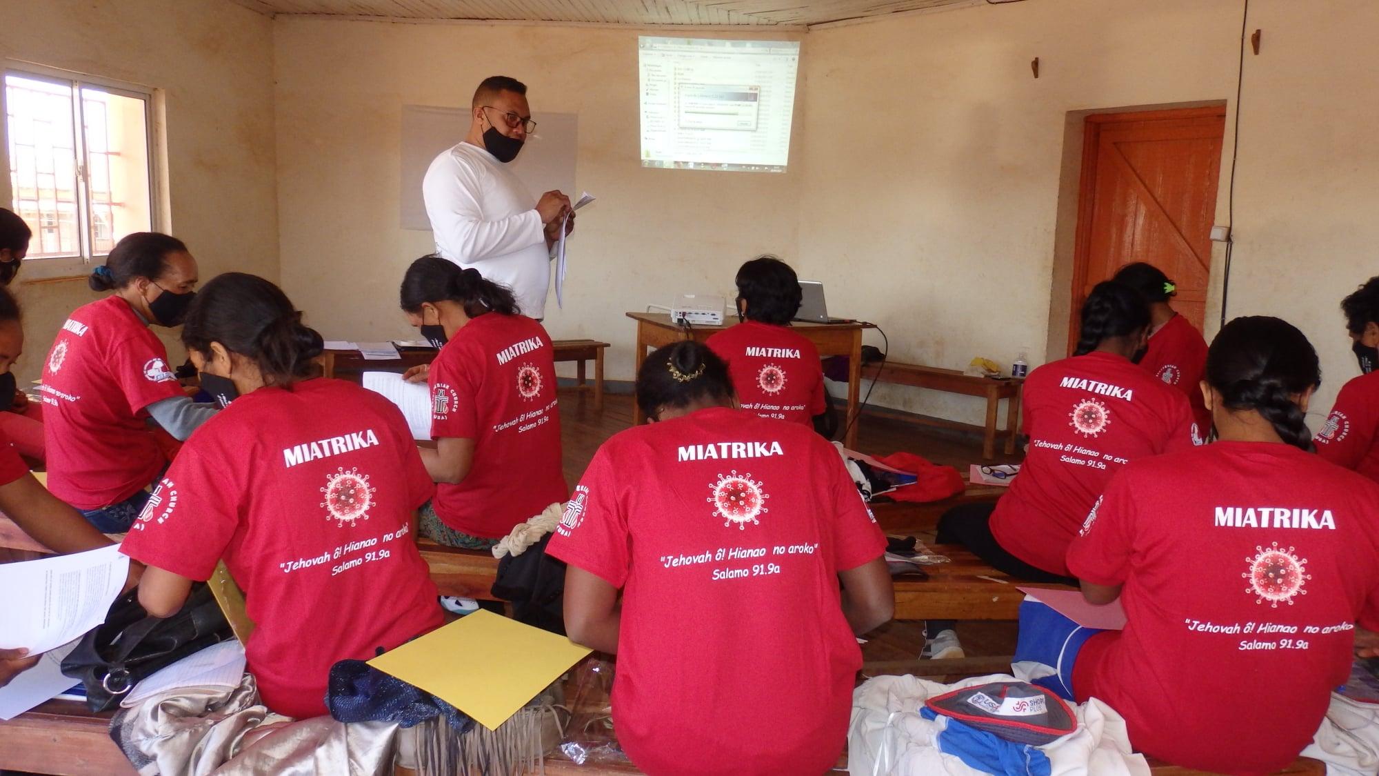 MIATRIKA Action d'Urgence Sociale face au COVID-19